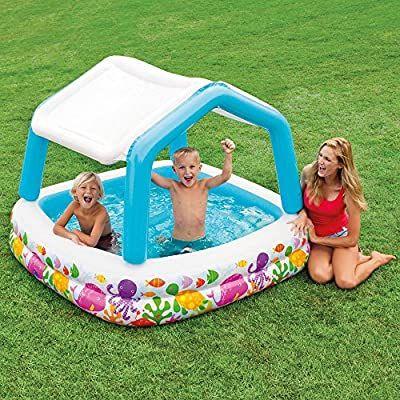 Intex John Adams 62 x 62-Inch Sun Shade Pool - £18.28 (+£4.49 Non-Prime) @ Amazon