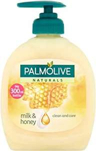 Palmolive Naturals Nourishing Delight With Honey & Milk Liquid Handwash 90p (+£4.49 Non Prime) @ Amazon