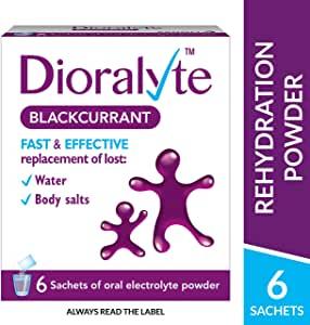 Dioralyte Supplement Blackcurrant Flavour (6 Sachets) £3 at Amazon Prime (+£4.49 non-Prime)