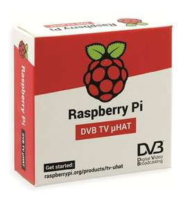 Raspberry pi TV HAT DVB-T - £9.19 Prime / +£4.49 non Prime Sold by COSSuppliesltd and FBA