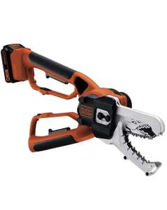 BLACK+DECKER 18V Cordless Alligator Lopper Chainsaw with 2.0Ah Lithium Ion Battery £119.99 @ Amazon