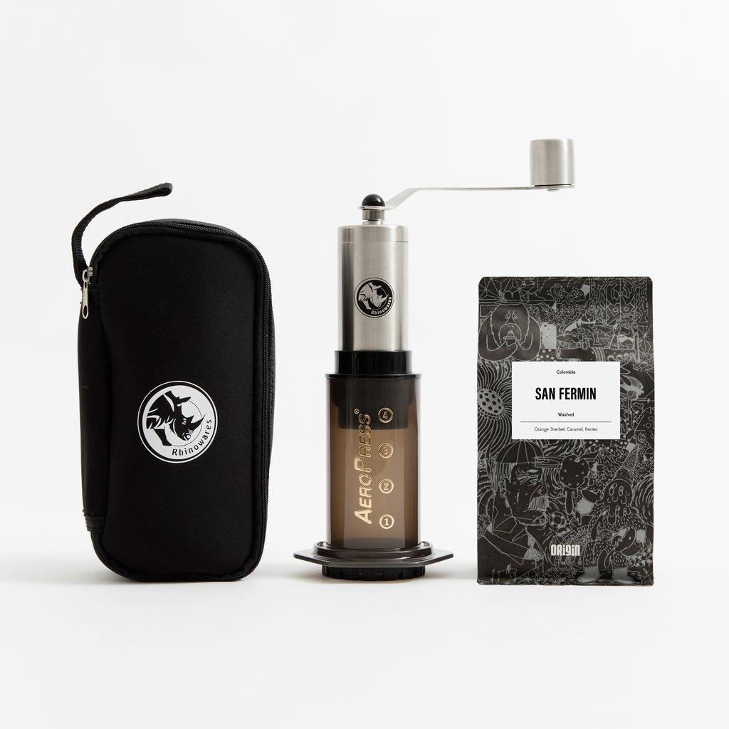 Aeropress & Grinder Travel Bundle - Origin Coffee £52.80 @ Origincoffee