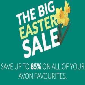 Up to 85% sale - £2.50 delivery / Free delivery over £15 @ Avon