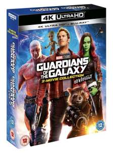 Guardians of the Galaxy/ Guardians of the Galaxy Vol. 2 (Marvel Studios) [UHD] £29.99 / £26.99 with new user code at Zoom