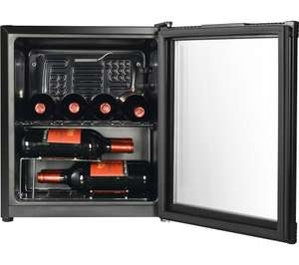ESSENTIALS CWC15B18 Wine Cooler (15 bottles - 46L) - Black £79.99 @ Currys