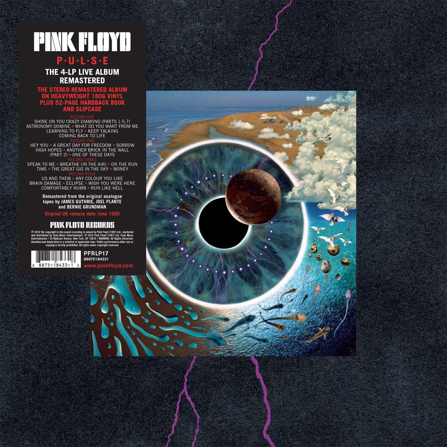 Pink Floyd P.U.L.S.E - box 4 LP + book 52 pages [VINYL] LP, Box Set £76.74 at Amazon
