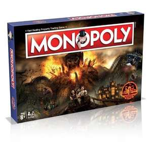 Alton Towers Resort Monopoly Sale Price £28.00 + £3.95 shipping