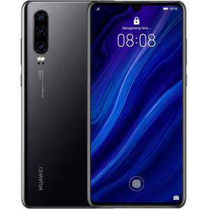 HUAWEI P30 Network Free - 128 GB, Dual SIM Black - Brand New £339.99 at districtelectricals