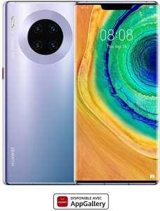 HUAWEI Mate 30 Pro Smartphone, Curved Screen of 6.53 Inch Kirin 990 Processor, Quad Camera , 4500mAh, Gray £672.95 @ Amazon France