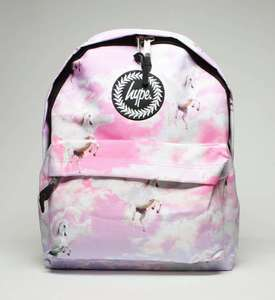 Hype Backpack Unicorn design Now £12.59 delivered with code @ Schuh