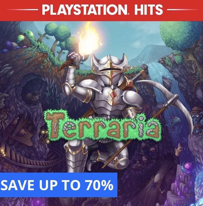 Terraria (PS4) £3.89 @ Playstation PSN