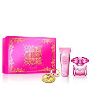 Versace Bright Crystal Absolu Eau De Parfum 90ml, Body Lotion 100ml & Keychain Gift Set £42 delivered @ Beauty Base