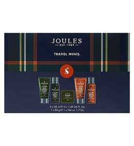 Joules Mens Travel kit £5.62 + £3.50 delivery at Boots Shop
