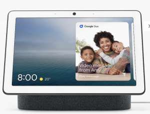 "Google Nest Hub Max Hands-Free Smart Home Controller with 10"" Screen, Charcoal £179 at John Lewis & Partners"