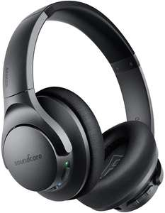 Soundcore Life Q20 Bluetooth Headphones, Active Noise Cancellation £39.99 Sold by AnkerDirect and Fulfilled by Amazon
