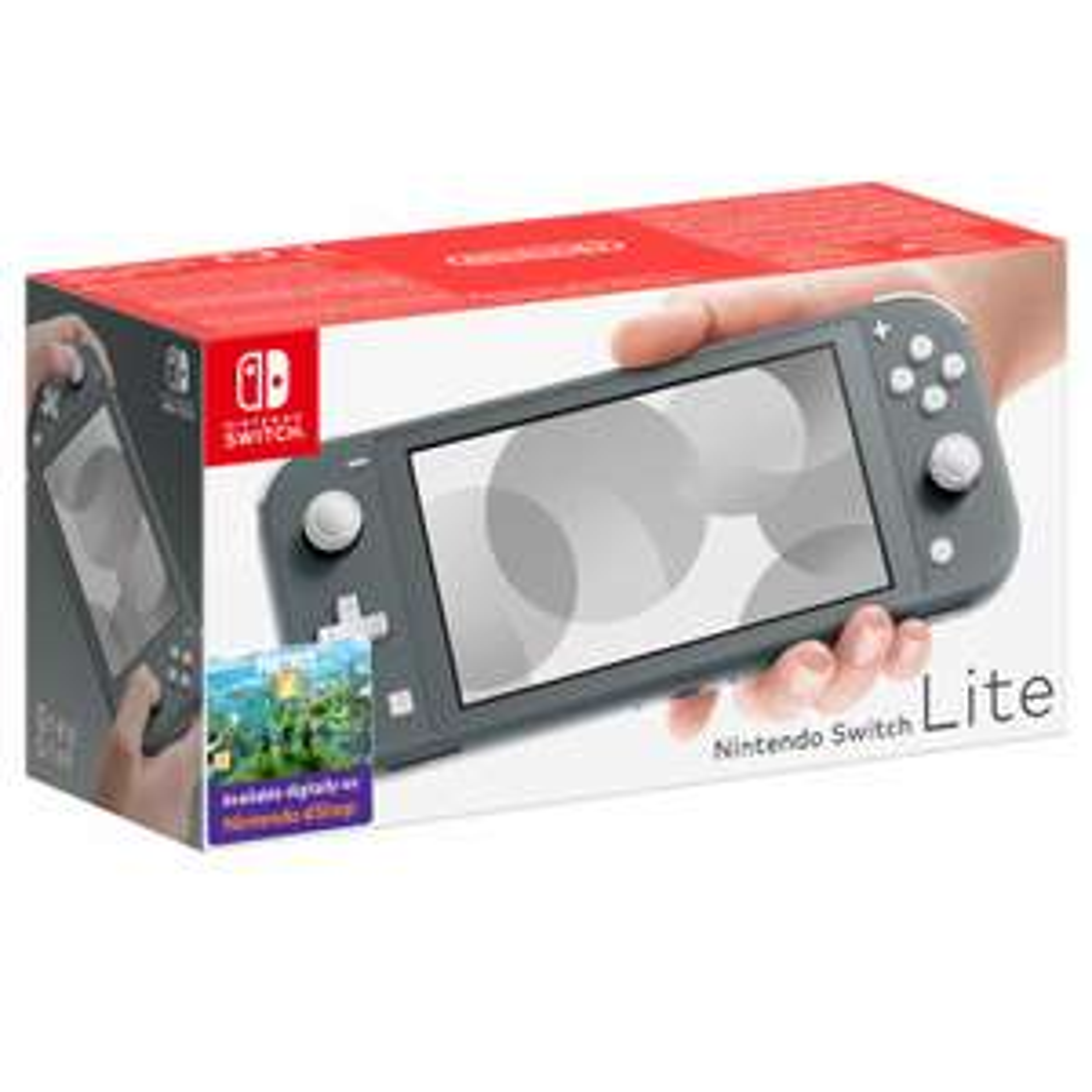 Nintendo Switch Lite (Grey) £199.99 at Nintendo Official UK Store