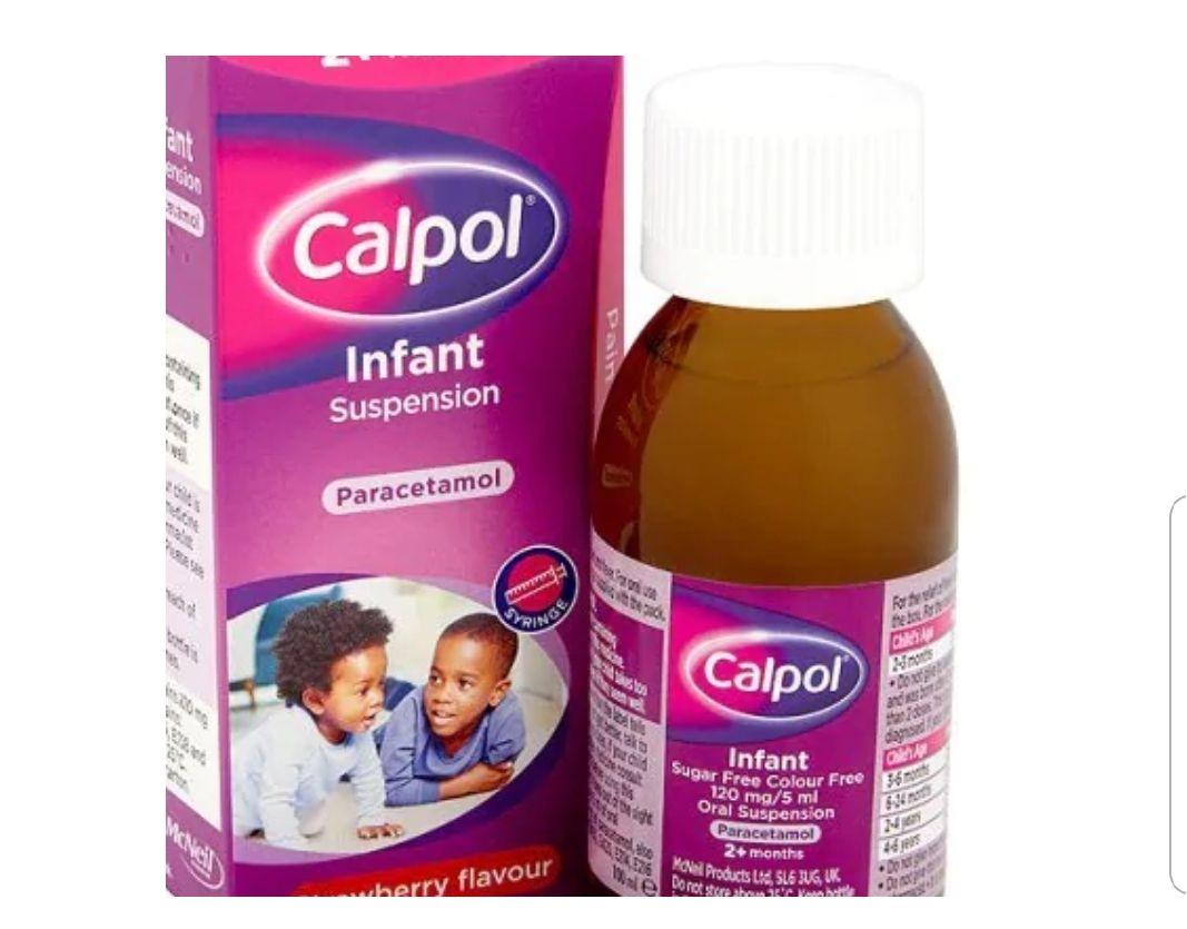 Calpol Infant 2+ Months Strawberry Suspension 100ml £3.49 + £3 delivery at Superdrug