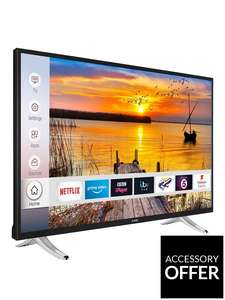 LUXOR 55 inch 4K Ultra HD Freeview Play HDR Smart TV £336.98 Delivered @ Very