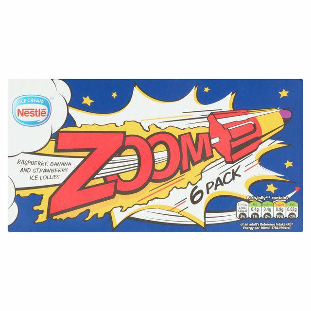 Box of 6 Zoom Ice Lollys instore Heron Foods 99p (Birkenhead)