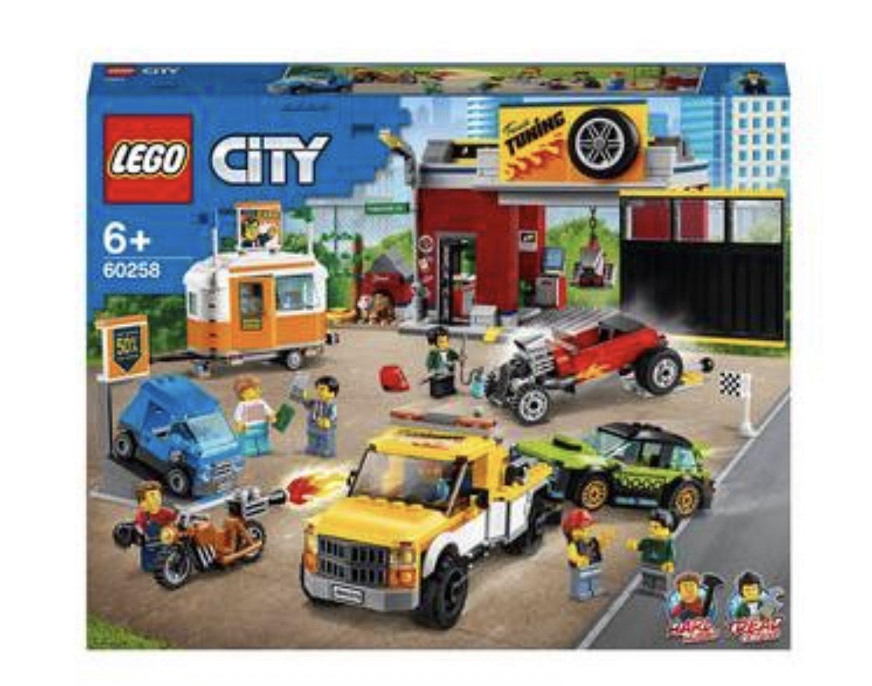 LEGO - City Turbo Wheels Tuning Workshop Building Playset 60258 £63