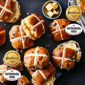 M&S Hot cross buns only £1 from 9th April