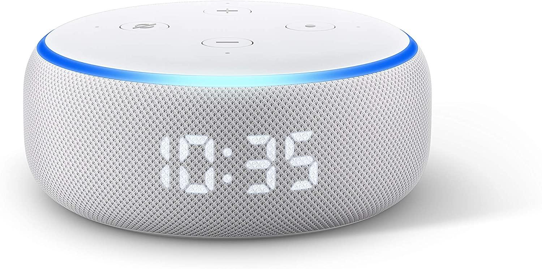 Amazon Echo Dot with Clock - £39.99 @ Amazon