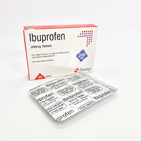 6 x Ibuprofen 200mg 16 Tablets (96) - £3.39 delivered @ Home Health UK