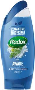 Radox Feel Good Fragrance 250ml 2-in-1 Shower and Shampoo (Pack of 6) £6 at Amazon (+£4.49 Non-prime) (£5.70 with S&S)(20% with 1st S&S)