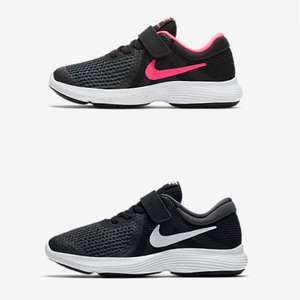 Younger Kids' Shoe Nike Revolution 4 Black/White OR Black/Racer Pink £12.93 delivered @ Nike (£4.50 P&P / Free With Account)