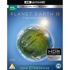 Planet Earth II 4K Blu-Ray £11.99 delivered at 365games