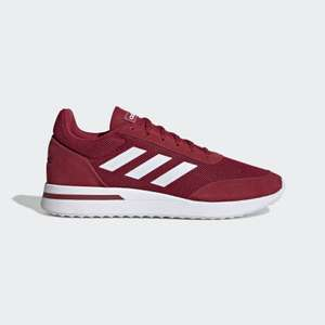 adidas Run 70s men's trainers in maroon and white for £31.48 delivered (using code) @ adidas