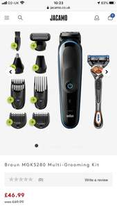 Braun MGK5280 Multi-Grooming Kit £46.99 at Jacamo
