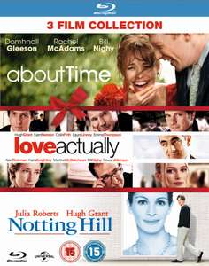 About Time/Love Actually/Notting Hill (Triple Pack) [Blu-ray] £6.99 @ Zoom