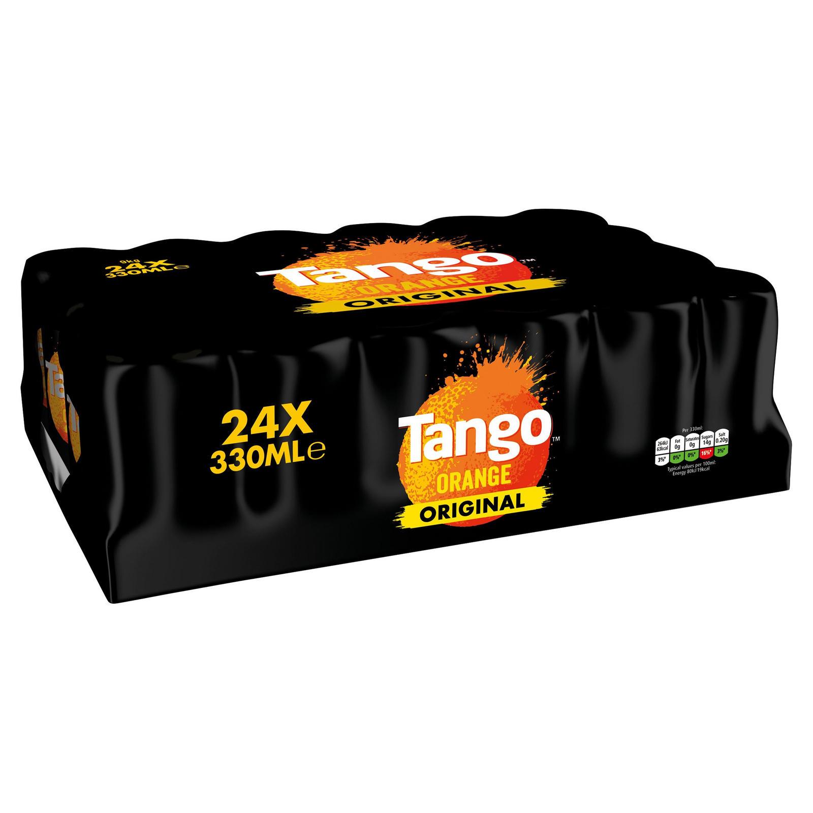 Tango Orange Can 330 Ml (pack Of 24) - £6.36 (Prime) / £10.85 (Non Prime) delivered @ Amazon
