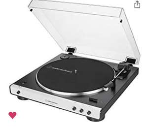 Amazon Audio-Technica AT-LP60XBT Full Automatic Wireless Belt-Drive Turntable - £129