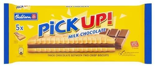 Bahlsen Milk Chocolate Pick Up! 5x28g £1 for 5 (Prime) £5.49 (non Prime) @ Amazon