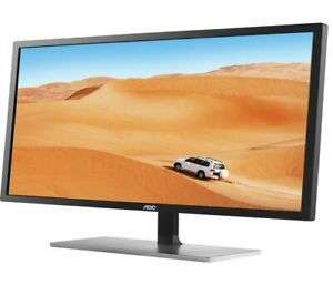 "AOC Q3279VWFD8 Quad HD 31.5"" IPS LCD Monitor - Black & Silver £199 @ Currys ebay"