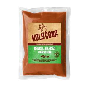 Holy cow bengal jalfrezi and goan xacuti Curry Sauce 1kg bags only £1 @ heron