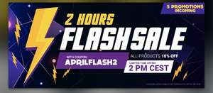 2 Hour Flash Sale @ Gamivo 10% off all products using code