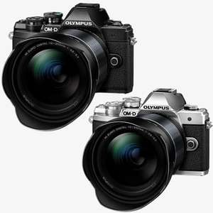 Olympus E‑M10 Mark III 12‑200mm Camera Kit - Includes Body, M.Zuiko Lens & Hood - Silver or Black - £749.99 With Code @ Olympus