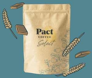 250g coffee bag: wholebean or ground coffee £1.00 delivered using link (new customers) @ Pact Coffee