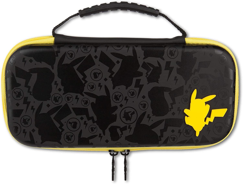 Travel Case For Nintendo Switch (Pokemon Pikachu Silhouette) £9.99 (Prime) / £12.98 (Non-Prime) Delivered @ Amazon