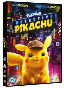 Pokémon Detective Pikachu DVD £3.74 / Blu Ray £5.99 Delivered using code (25% off family favourites)@ WB Shop