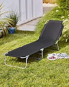 Set of 2 or more Sun Loungers (Choice of 4 colours) - £24 @ JD Williams