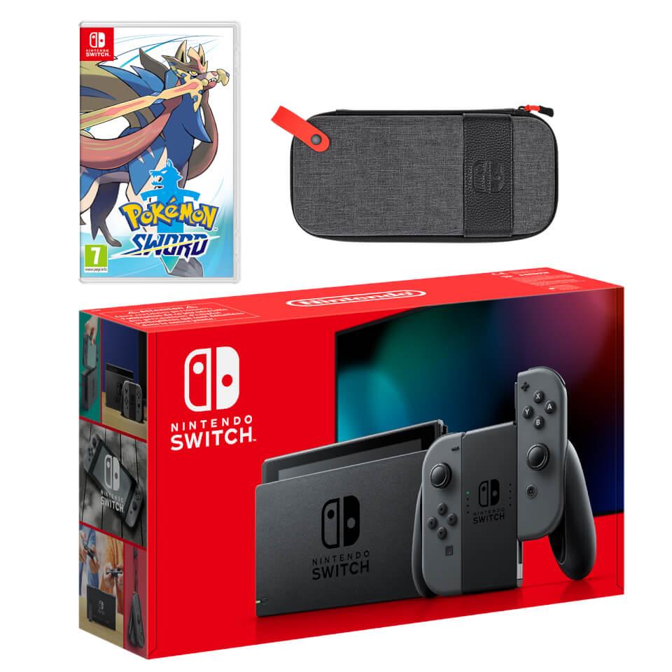 Nintendo Switch (Grey) Pokémon Sword Pack £329.99 @ Nintendo Official UK Store