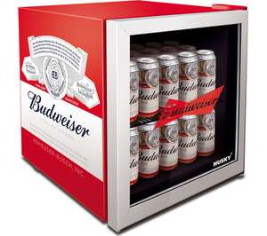 HUSKY Mini Fridge - Budweiser / coke - £119.99 delivered @ Curry's PC World + 0.5% cashback via TopCashback / Quidco