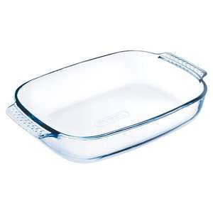 Pyrex Easy Grip Roaster 30X20cm £2 @ Tesco (Min basket £40 + up to £7 delivery)