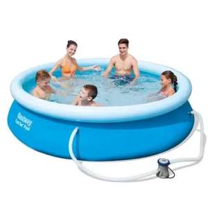 Bestway 10ft Fast Set Pool inc Filter Pump £63.95 / Bestway 12ft Fast Set Pool inc Filter Pump £75.95 + FREE next day delivery @ allroundfun