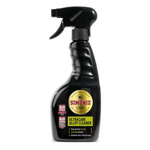 Simoniz Ultra Care Alloy Cleaner 500ml £4.09 @ Euro Car Parts (£3.95 P&P or Free Over £15)