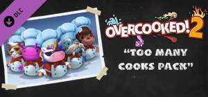 (Steam PC DLC) Overcooked! 2 - (Too Many Cooks Pack & Surf 'n' Turf) Free To Keep April 16-21 @ Steam Store